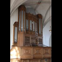 Bautzen, Dom St. Petri (Eule-Orgel im evangelischen Teil), Eule-Orgel seitlich