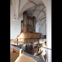 Bautzen, Dom St. Petri (Eule-Orgel im evangelischen Teil), Orgelempore mit Eule-Orgel
