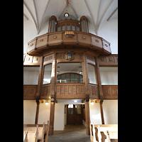 Bautzen, Dom St. Petri (Eule-Orgel im evangelischen Teil), Emporen im evangelischen Teil