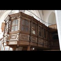 Bautzen, Dom St. Petri (Eule-Orgel im evangelischen Teil), Fürstenloge im evangelischen Teil des Doms