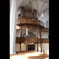 Bautzen, Dom St. Petri (Eule-Orgel im evangelischen Teil), Orgelempore mit Eule-Orgel seitlich