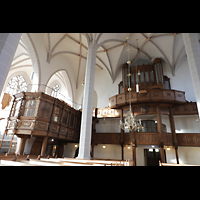 Bautzen, Dom St. Petri (Eule-Orgel im evangelischen Teil), Eule-Orgel und Fürstenloge