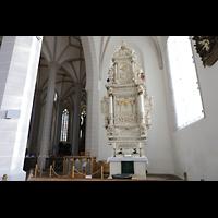 Bautzen, Dom St. Petri (Eule-Orgel im evangelischen Teil), Seitenaltar im südlichen Seitenschiff