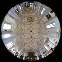 Bautzen, Dom St. Petri (Eule-Orgel im evangelischen Teil), Gesamter Innenraum