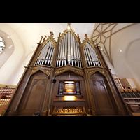 Bautzen, Dom St. Petri (Eule-Orgel im evangelischen Teil), Kohl-Orgel mit Spieltisch