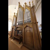 Bautzen, Dom St. Petri (Eule-Orgel im evangelischen Teil), Kohl-Orgel seitlich