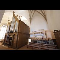 Bautzen, Dom St. Petri (Eule-Orgel im evangelischen Teil), Kohl-Orgel mit Balganlage