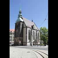 Görlitz, Frauenkirche, Außenansicht von Südwesten