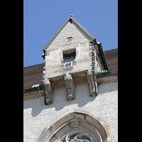 Görlitz, Frauenkirche, Ehemaliges Kranhäuschen an der Südseite des Daches