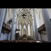 Görlitz, Frauenkirche, Innenraum in Richtung Chor