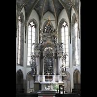 Görlitz, Dreifaltigkeitskirche, Barocker Hochaltar