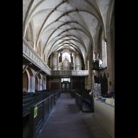 Görlitz, Dreifaltigkeitskirche, Innenraum in Richtung Orgel