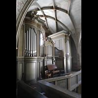 Görlitz, Dreifaltigkeitskirche, Orgel von der Seitenempore aus gesehen