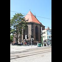 Brandenburg, St. Katharinen (Hauptorgelanlage), Chor von außen