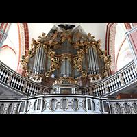 Brandenburg, St. Katharinen (Hauptorgelanlage), Hauptorgel