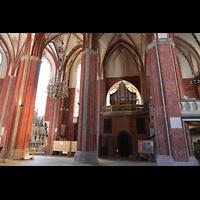 Brandenburg, St. Katharinen (Hauptorgelanlage), Chorrorgel in der südlichen Vierung