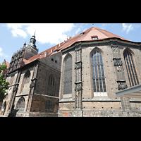 Brandenburg, St. Katharinen (Hauptorgelanlage), Chor und Kirche von Südosten