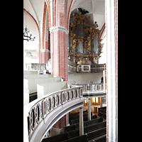 Brandenburg, St. Katharinen (Hauptorgelanlage), Huaptorgel von der südlichen Seitenempore aus gesehen