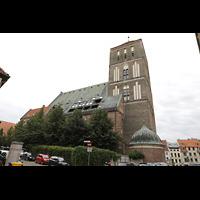 Rostock, St. Nikolai, Ansicht von Nordwesten