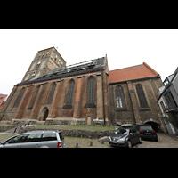 Rostock, St. Nikolai, Ansicht von Südosten