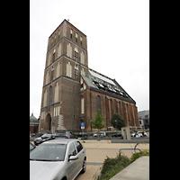 Rostock, St. Nikolai, Ansicht von Südwesten