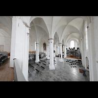Rostock, St. Nikolai, Blick von der Westempore zur Orgel