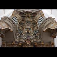 Rostock, St. Marien (Turmorgel), Orgelempore