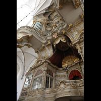 Rostock, St. Marien (Turmorgel), Logen unter der Orgelempore