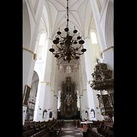 Rostock, St. Marien (Turmorgel), Innenraum in Richtung Ostchor
