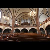 Rostock, Heiligen-Geist-Kirche, Orgelempore