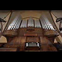 Rostock, Heiligen-Geist-Kirche, Orgel mit Spieltisch