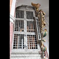 Brandenburg, St. Katharinen (Hauptorgelanlage), Hauptorgelgehäuse von der Seite