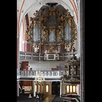 Brandenburg, St. Katharinen (Hauptorgelanlage), Hauptorgelempore