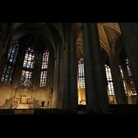 Venlo, Sint Martinus Basiliek, Blick vom Chor des linken Seitenschiffs in die anderen beiden Chöre