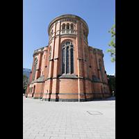 Düsseldorf, Johanneskirche, Chor von außen