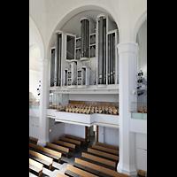 Düsseldorf, Johanneskirche, Orgelempore seitlich