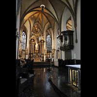 Düsseldorf, Basilika St. Lambertus, Chorraum mit Chororgel