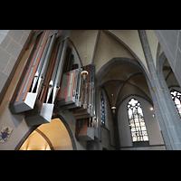 Düsseldorf, Basilika St. Lambertus, Hauptorgel perspektivisch
