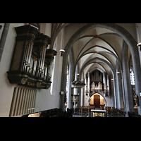 Düsseldorf, Basilika St. Lambertus, Chororgel und hauptorgel