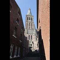 Viersen - Dülken, St. Cornelius und Peter (Hauptorgel), Turm