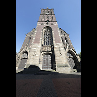 Viersen - Dülken, St. Cornelius und Peter (Hauptorgel), Turm und Westfasade