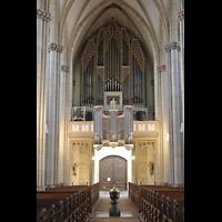 Viersen - Dülken, St. Cornelius und Peter (Hauptorgel), Orgelempore