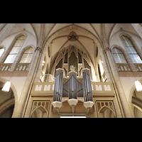 Viersen - Dülken, St. Cornelius und Peter (Hauptorgel), Hauptorgel mit Rückpositiv perspektivisch