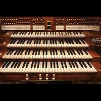 Viersen - Dülken, St. Cornelius und Peter (Hauptorgel), Mittlere Registerstaffel und Manuale