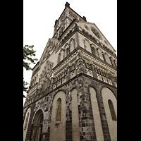 Neuss, Münster St. Quirin(us), Hauptturm von Nordwesten