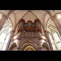 Willich, Pfarrkirche St. Katharina, Orgelempore perspektivisch
