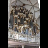 Merseburg, Dom St. Johannes und St. Laurentius, Orgel seitlich