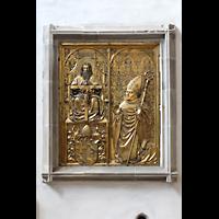 Merseburg, Dom St. Johannes und St. Laurentius, Epitaph des Bischofs Thilo von Trotha von Peter Vischer d.Ä. (Ende 15. Jh.)