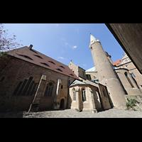 Merseburg, Dom St. Johannes und St. Laurentius, Außenansicht von