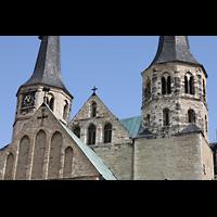 Merseburg, Dom St. Johannes und St. Laurentius, Details der Türme